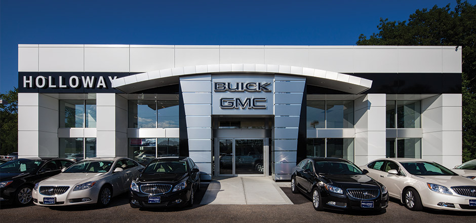 holloway buick gmc channel building company