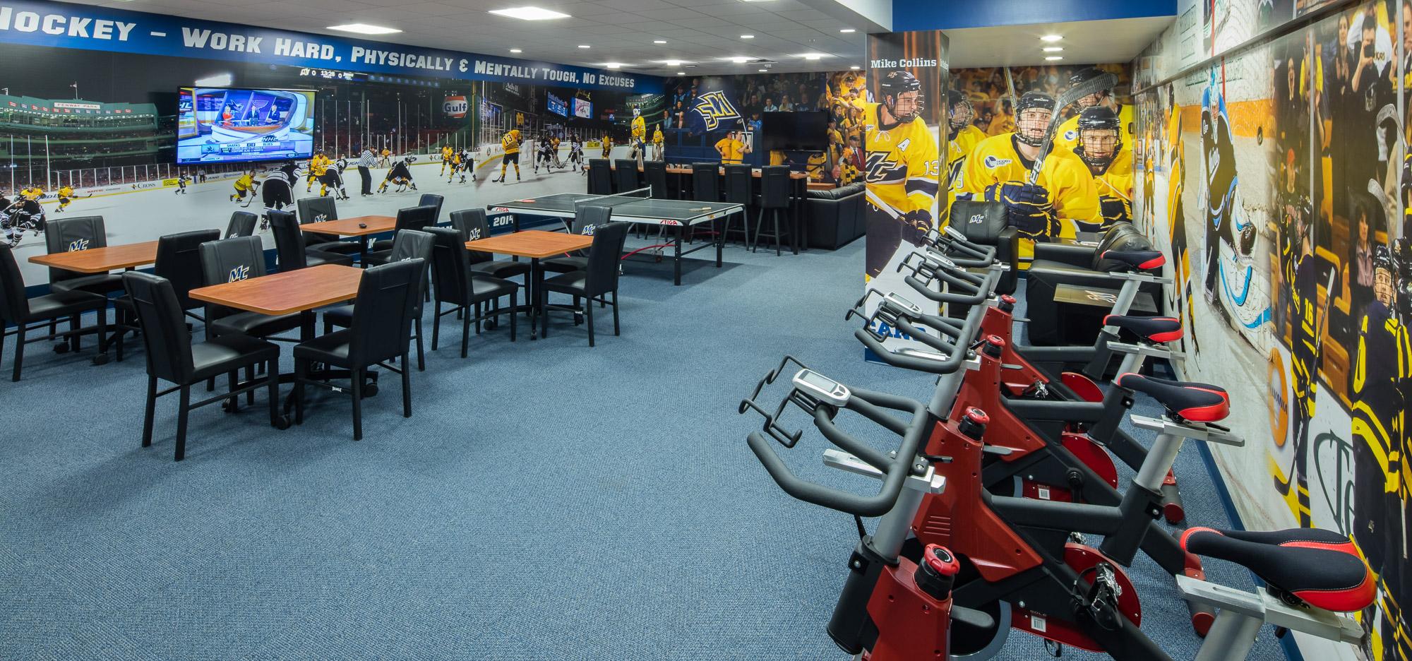 Merrimack College Hockey Locker Rooms - Channel Building Company
