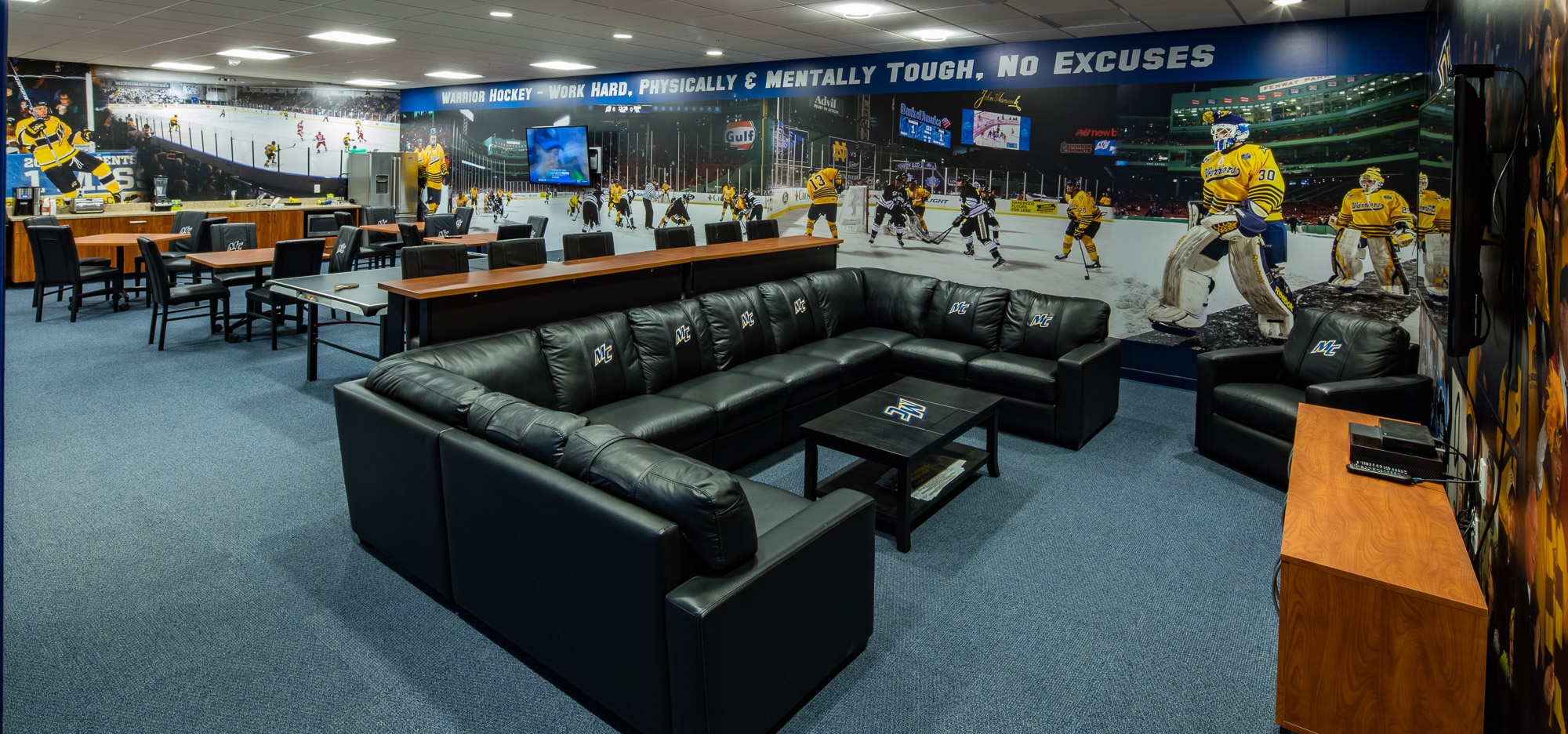 Merrimack College Hockey Locker Rooms - Channel Building Company