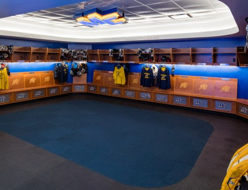 Merrimack College Hockey Locker Rooms